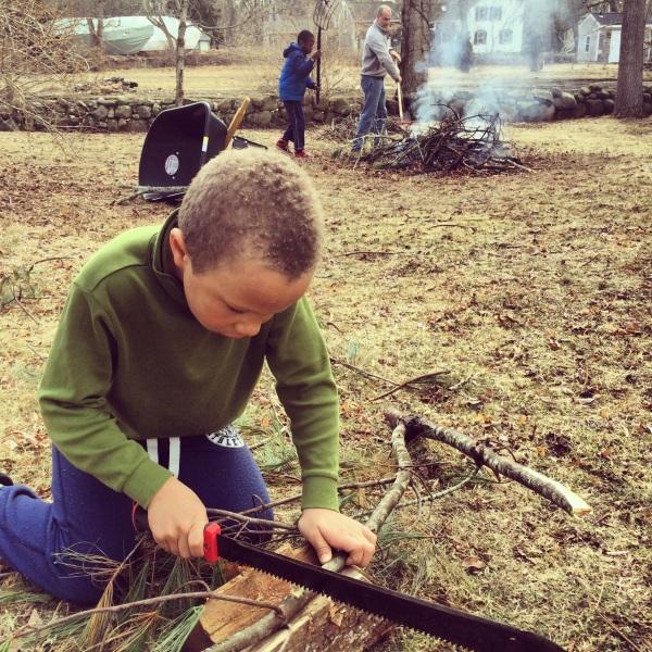 Bonfires and machetes