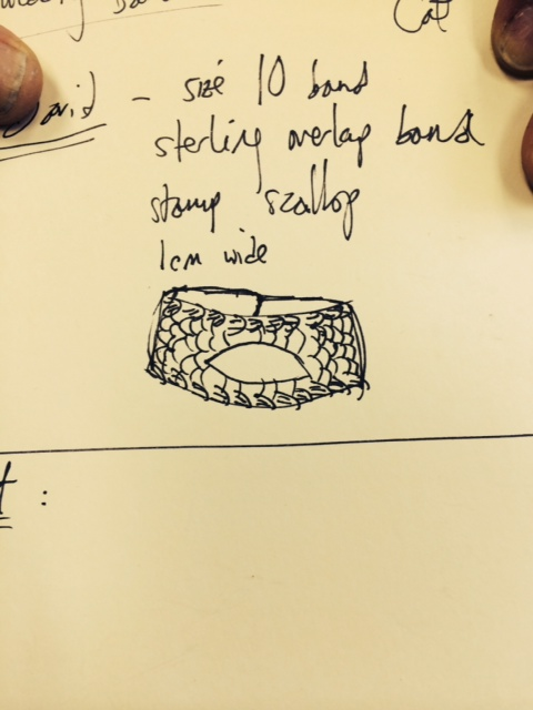 Shrek's ring design, take one